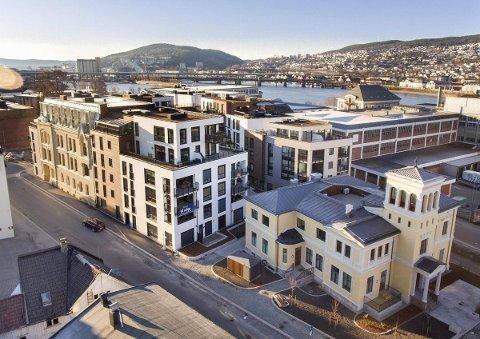 BYGGET FOR Å FOREBYGGE ENSOMHET: Boligprosjektet med adresse Grev Wedels plass 3 er tilrettelagt for å aktivisere beboere og forebygge ensomhet.