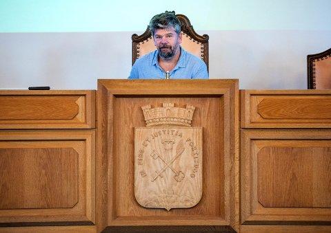 Ståle Sørensen kan miste ledervervet i Klimautvalget.