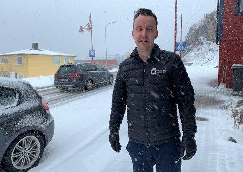 SITTER IKKE STILLE: Andreas Børvik vil helst at det skal skje noe i løpet av året.