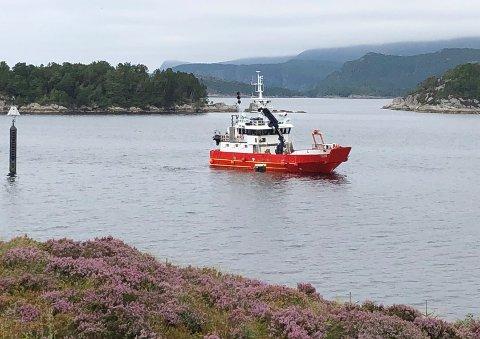 MS Nautilus Survey i Florø.
