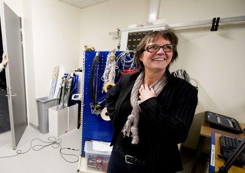 MASTERE: Akademi for Scenekunst har startet masterstudium for scenografistudentene. Anne Berit Løland håper på midler over statsbudsjettet.Arkivfoto: Erik Hagen