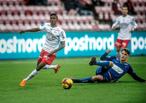 Spilte for Florø: Anas Farah spilte i forrige treningskamp for Florø.