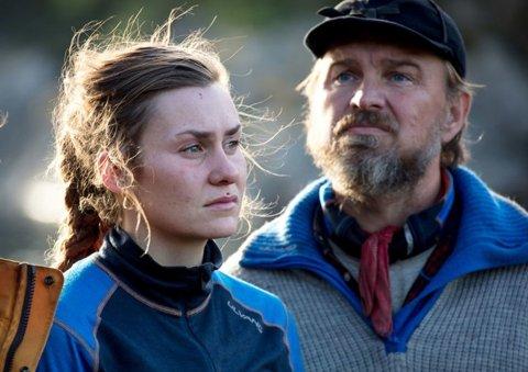 """KONFLIKT: Camilla og Halvor har ulikt syn på rovdyrforvaltningen, for å si det forsiktig. I vinter gjorde begge en god figur på """"Farmen"""" på TV2."""