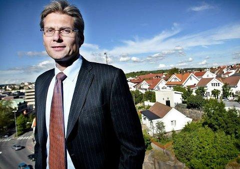 Thomas F. Borgen fra Fredrikstad sier han «tar det ledermessige ansvaret» når han nå velger å gå av som toppsjef for Danske Bank.