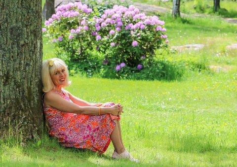 20-årsjubileum: Talina Hansen Skogseth gleder seg til jubileumssesongen. Det er 20 år siden hun  presenterte ideen i parken, da i snøvær.