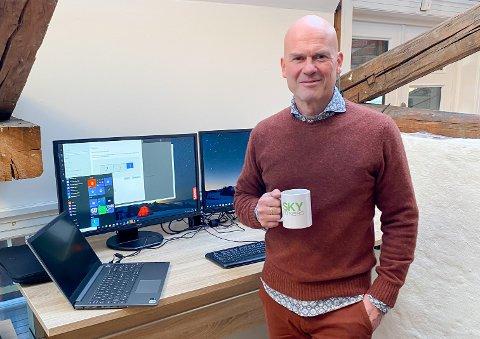 Frank Ivar Baadstrand er ansatt som økonomidirektør i Sky Fitness AS