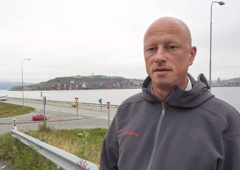 Fornøyd: Ordfører Tore Nysæter i Narvik.Foto: Terje Næsje