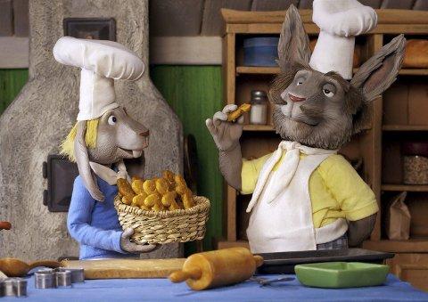 Klassiker: Dobbeltpeprede pepperkaker er bare én av de mange overraskelsene som serveres i den norske animasjonsfilmen om «Dyrene i Hakkebakkeskogen». Norgespremiere på Aurora kino 1. juledag.alle foto: filmweb