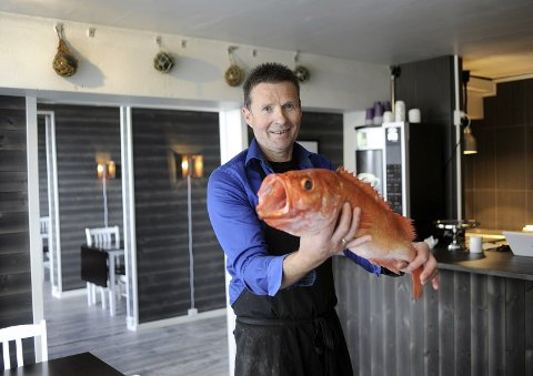 - Jeg passer på at vi har det beste råstoffet tilgjengelig til enhver tid, lover Sigbjørn Johansen som åpner Fiskehallen Cafe & Restaurant i neste uke.