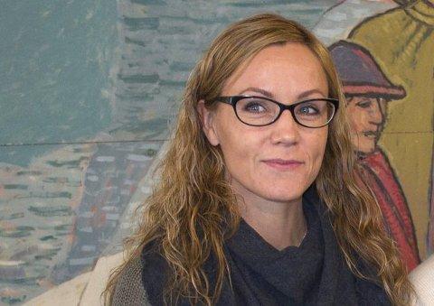 Enhetsleder Lena Hope er overrasket over interessen for stillingen som er lyst ledig i Narvik kommune.