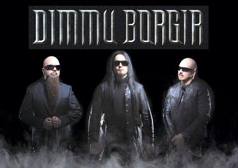 TIL MIDGARDSBLOT: Et av de største navnene innen black metal, Dimmu Borgir, skal spille på festivalen neste sommer.