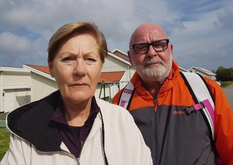 HJEMME: Vera Barlin og Morten Børresen har ingen reiseplaner med det første. De trenger tid på å fordøye det de opplevde i Sankt Petersburg.