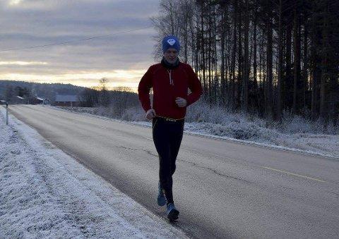 MÅLBEVISST: Steffen Foseid setter seg nye løpe-mål for å samle inn penger til gode formål.