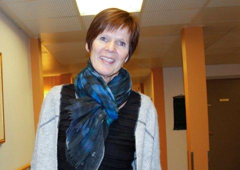 VERDIGHET: og respekt for enkeltmennesket er viktig i vårt møte med pasientene. Derfor legger vi også til rette for røykerne, men må også ta hensyn til de ansatte, sier Heidi Gjerdrum.