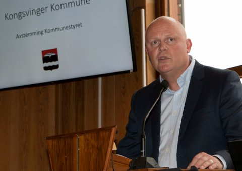 HYGGELIGE TALL: Rådmann Lars Andreas Uglem kan presentere et årsresultat godt over forventningene for Kongsvinger i 2020.