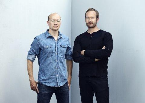 NOMINERTE: Espen Voll og Torbjørn Anderssen i designfirmaet Anderssen & Voll .