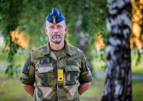 NØKKELROLLE: Brigader Kurt Pedersen er nestkommanderende i Cyberforsvaret.