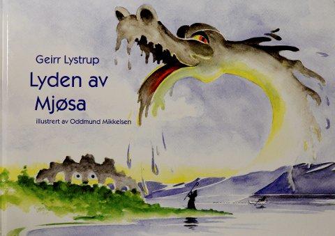 """VISEBOK: Geirr Lystrups illustrerte bokversjon av prosjektet """"Lyden av Mjøsa"""", inneholder 45 sangtekster med noter besifring."""