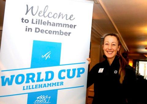 Fanny Horn Birkeland gleder seg til helgens verdenscupkonkurranser på Lillehammer. Nestlederen i organisasjonskomiteen vet hvordan hun vil ha det.
