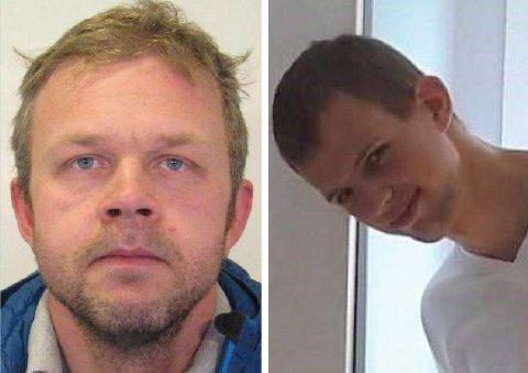SAVNET: Tom Vegard Grønje (t.v.) og Pål Johan Gulbrandsen er begge savnet. Nå pågår to parallelle etterforskinger for å finne de to.