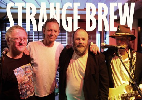 TIL GRAN: Bandet Strange Brew kommer til Gran i juli.