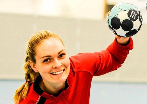 Pernille Wang Skaug bobler av forventning foran sitt neste håndballeventyr - i Kristiansand.