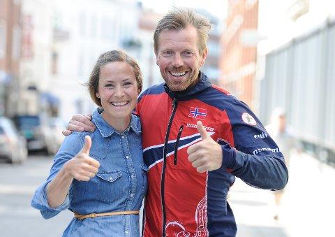 TOMMEL OPP: Med meritterte Mari Fasting og Petter Thoresen har O-VM 2019 engasjert VM-ambassadører fra øverste hylle.