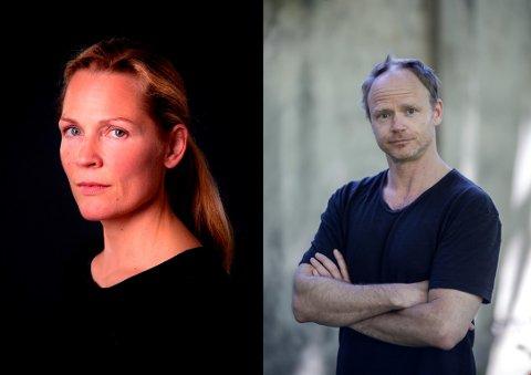 BOKBAD: Åsne Seierstad og Harald Eia skal ha bokbad i kulturhuset 6. april.