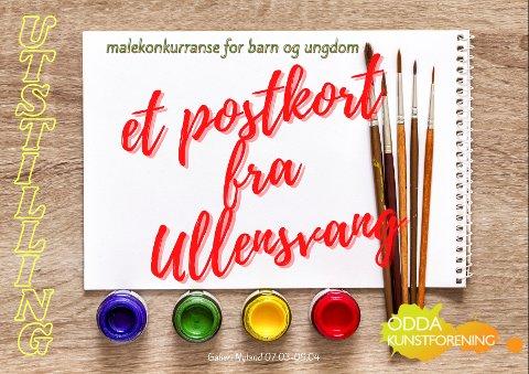 Søndag 7.mars vil de beste bidragene i malekonkurransen stilles ut på Galleri Nyland.