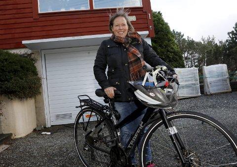 NY AVTALE:  Lorna Mannes Dyrkolbotn, prosjektleder Sykkelbyen Haugesund-Karmøy. arkivfoto: alfred aase