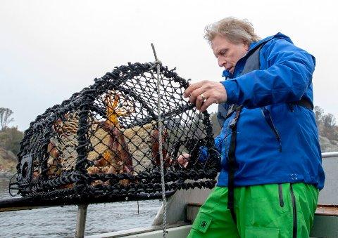 Karmøy 24042018  Skudeneshavn. Krabbefisker Sig. Hansen lanserer Captain Sig´s krabbeagn