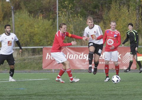 GRANE I TENKEBOKSEN: Grane IL kan spille mot Mosjøen, Mo IL og Sandnessjøen på Vegset stadion neste år hvis de vil. Men det er ingen stor hemmelighet at de vurderer om de skal ta plassen. Foto: Per Vikan