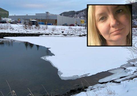ADVARER: Elin Storesund frykter for alvorlige konsekvenser i forbindelse med lek på isen.