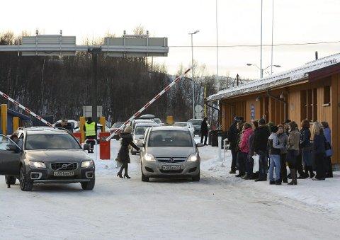 Grensestasjonen ved den norsk-russiske grensen på Storskog i Finnmark. Foto: Thomas Nilsen, The Independent Barents Observer