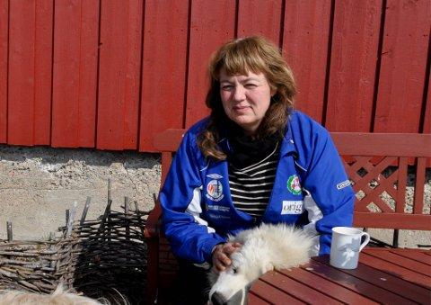 MISTET EKTEMANNEN: Maj-Lis Klingan mistet ektemannen i en drukningsulykke sommeren 2015. Dette bildet er tatt etter ulykken den sommeren.