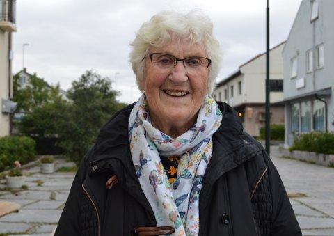 STORBOMBINGEN: Lill-Elsa Andresen Gunnestad var en av fem som overlevde da russiske bomber traff huset til Godtfred Johansen, 23. august 1944.