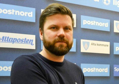 SLUTTET: Rune Berger har både vært spiller, trener og administrativt ansatt i Alta IF. Nå skal noen andre ta over hans administrative oppgaver i fotballklubben.