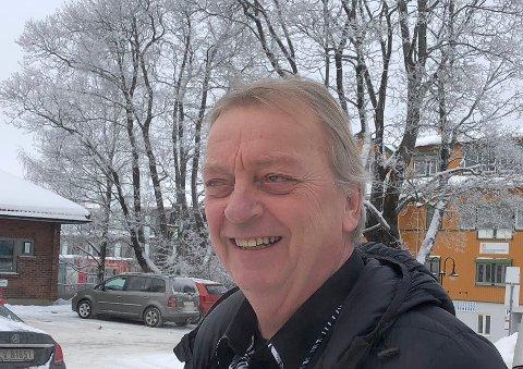 For tiden bygger Kjell Tore Skedsmo ut kvartalet ved Postgården på Jessheim.
