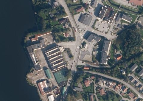 PÅ DELING: Time kommune vidarefører eit forslag om ha «shared space» i Kvernaland sentrum. Men det er ein føresetnad at omkøyringsvegen kjem.