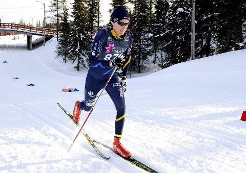 Tar nye steg: Lars Norheim Christiansen gikk bra i junior-NM. Nå venter Birkebeinerrennet og vinterens siste renn for Botne-løperen. Foto: Svein Halvor Moe