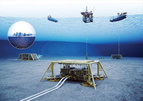 Elektrifisering: Prosjektet FMC Kongsberg Subsea har fått støtte til skal elektrifisere og gjøre oljeutvinning mer miljøvennlig.