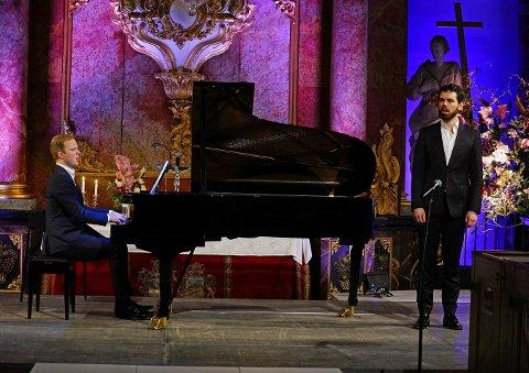 SCHUBERT: Halvor Festervoll Melien (baryton) og Thormod Rønning Kvam (klaver).