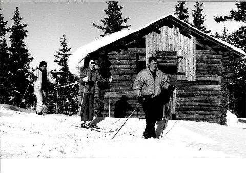 Bilde fra Fagerfjell-området. Bildet er trolig fra 80-tallet.