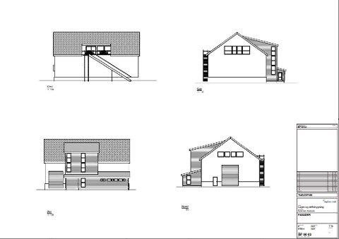 NYBYGG: Slik ser Asplan-Viak for seg at den nye bygningen til Korshamn Havbruk kan se ut.