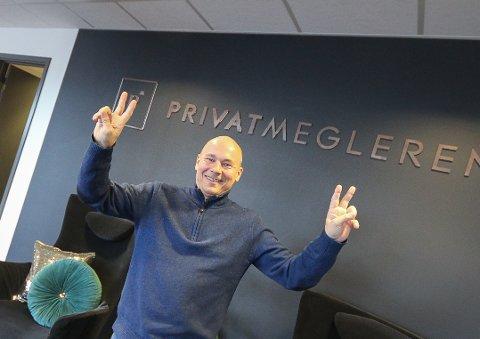 Ny start: Stig Rodal selger seg ut og slutter som daglig leder i Privatmegleren i Moss. Nå skal han selv kjøpe og selge eiendom.