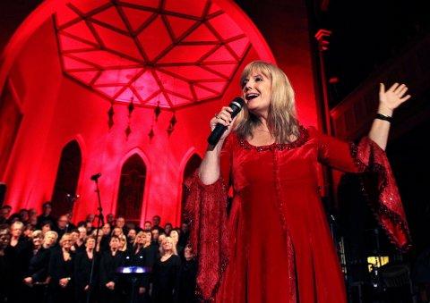 FULL SCORE: Moss Avis ga Hanne Krogh terningkast 6 i Moss kirke i 2010.