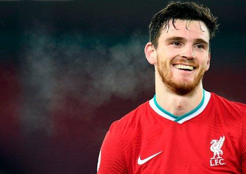 EVENTYR-HISTORIE: Andrew Robertsons tid i Liverpool har vært fenomenal.