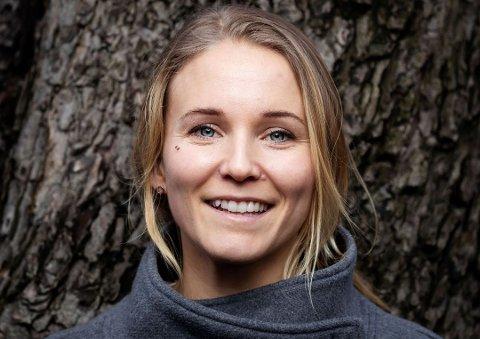 HOPPET AV GRÜNDERKARRIEREN: Men Christine Spiten trives nå i WWF Norge, der hun jobber med plast og marine spørsmål.
