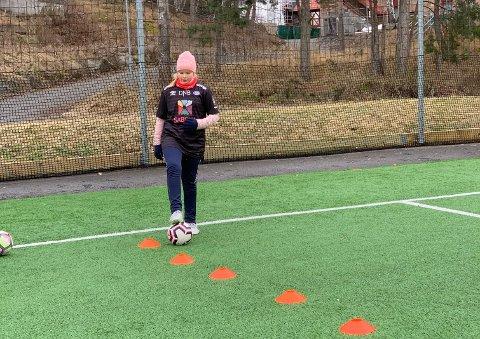 Jentefotball er gøy :)