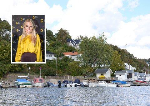 BOLIGKJØP: Isabelle Ringnes og samboeren Bjørn Erik Ihlen har funnet seg en ny drømmebolig på Ormøya, som hun kaller en sørlandsidyll.